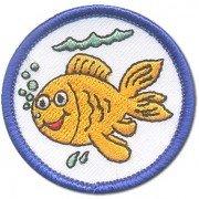 Abzeichen Fisch