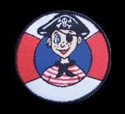 Abzeichen Pirat